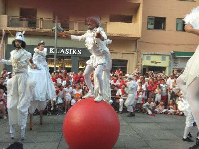 Pasacalles Circo